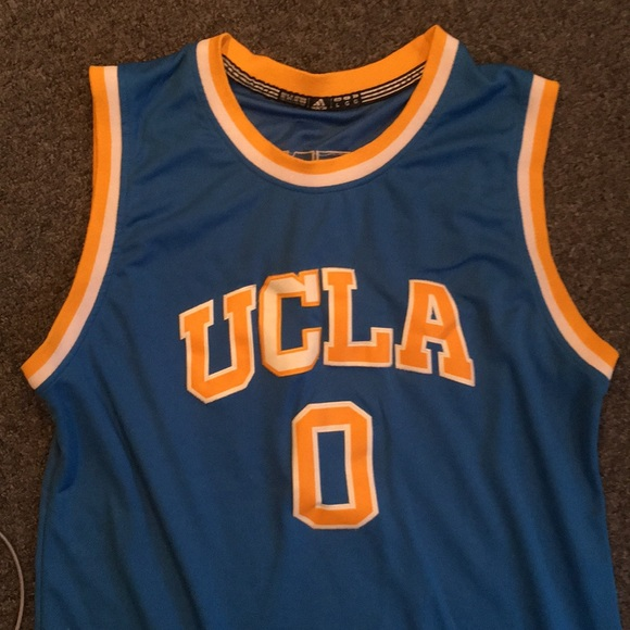 more photos 28b0d 1af61 Russell Westbrook college UCLA jersey by Adidas
